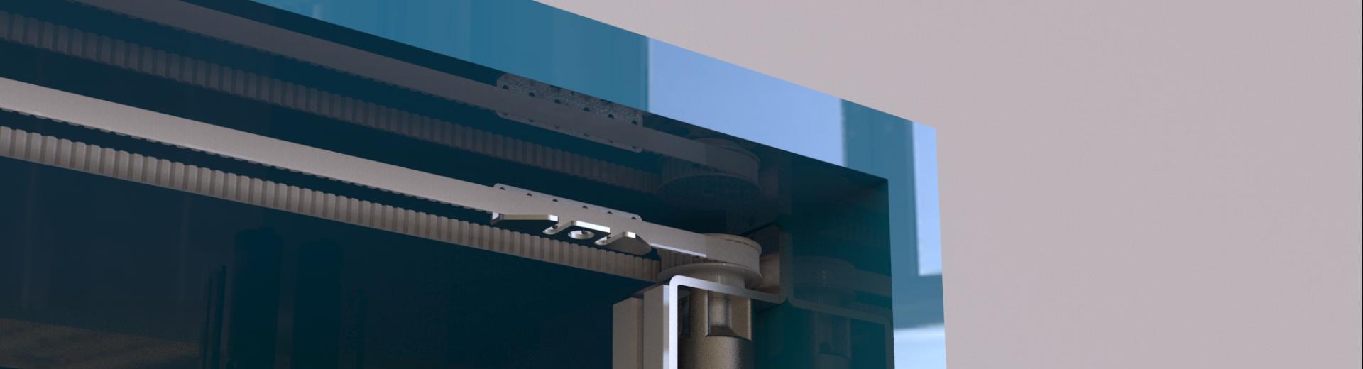 Automazione Per Porte Scorrevoli Da Interni Antamatic